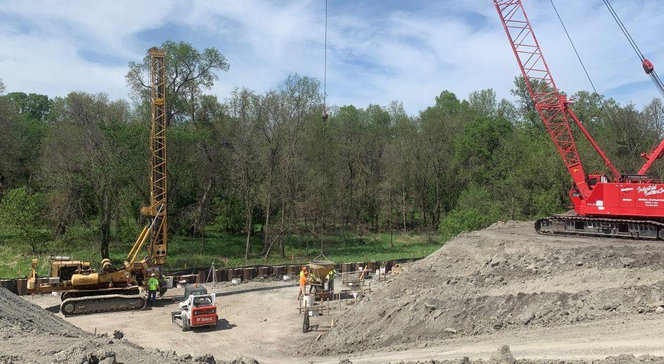 RRVWSP Discharge Construction Site