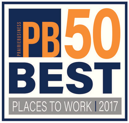 AE2S was voted one of the Beast Places to Work by Prairie Business Magazine