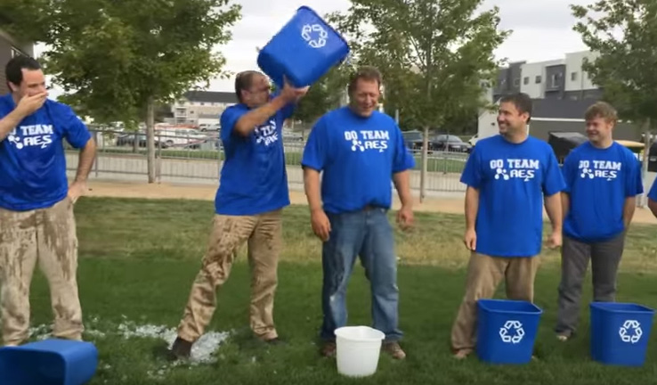 AE2S Employees ALS Ice Bucket Challenge