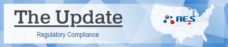 The Update - A Monthly Newsletter on Regulatory Compliance